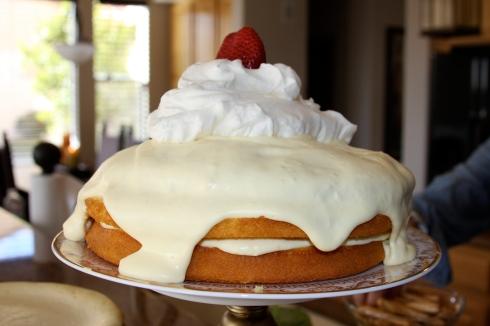 lemon custard cake