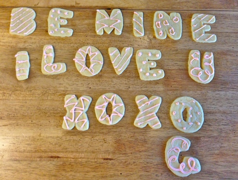 cookie love note