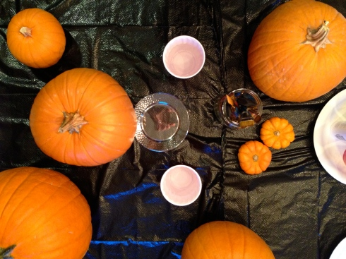 pumpkin table