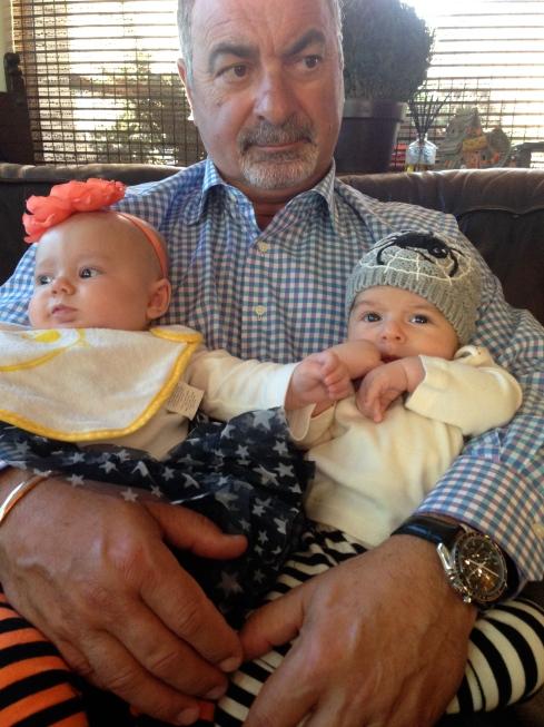 cousins with nonno